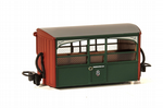 GR-561 Peco Ffestiniog 'Bug Box' Early Preservation Livery,  'Zoo Car'